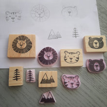 Load image into Gallery viewer, Into the Wild - 5 Stamp Set