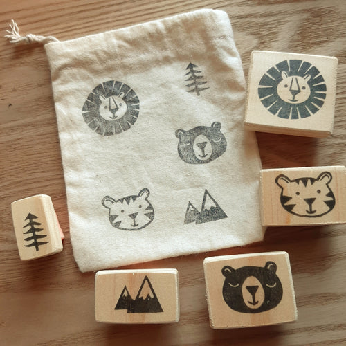 Into the Wild - 5 Stamp Set