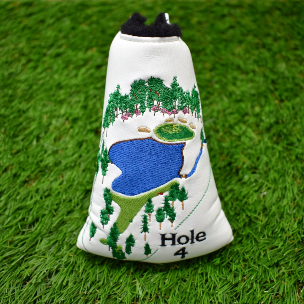 4th Hole Mid Mallet Putter Head Cover by AM&E