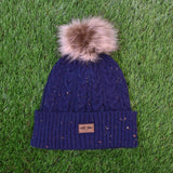 Furry Pom Pom Beanie by Imperial