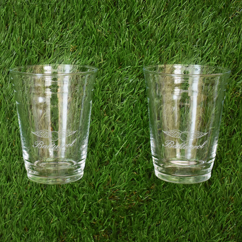 Set of 2 Party Cups by Sterling Cut Glass