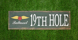 19th Hole Sign by Signs by Simon