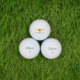 Sleeve of ProV1 Logo Balls by Titleist