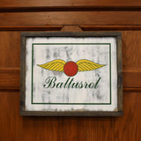 Baltusrol Logo/Flag Reversible Sign by Signs by Simon