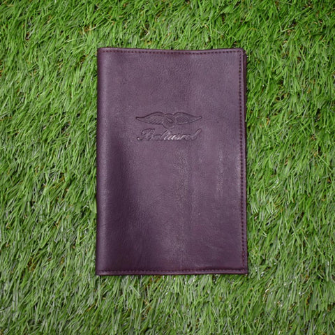 Leather Scorecard Holder by Tica