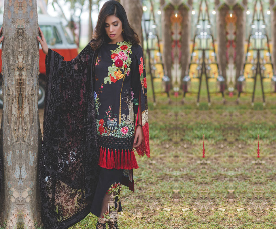 10726705cd Load image into Gallery viewer, Rang Rasiya Premium Embroidered Winter  Collection ...