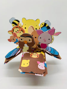 3D Bear and Friends Box Card