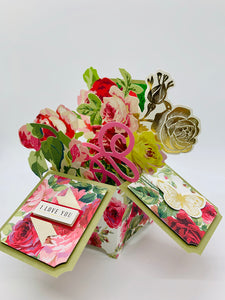 3D Flower Box Card