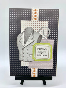 For my Dapper Fellow Card