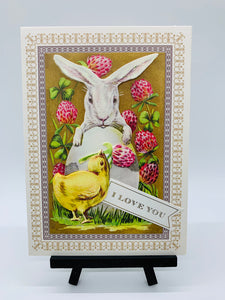 Easter Greeting Card- I love You