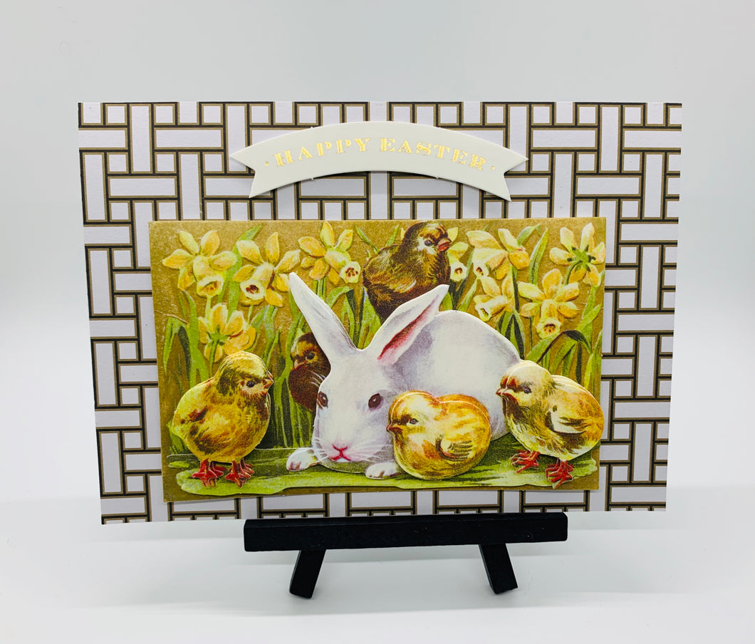 Easter Greeting Card- Happy Easter