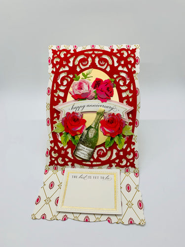 Happy Anniversary Easel Card