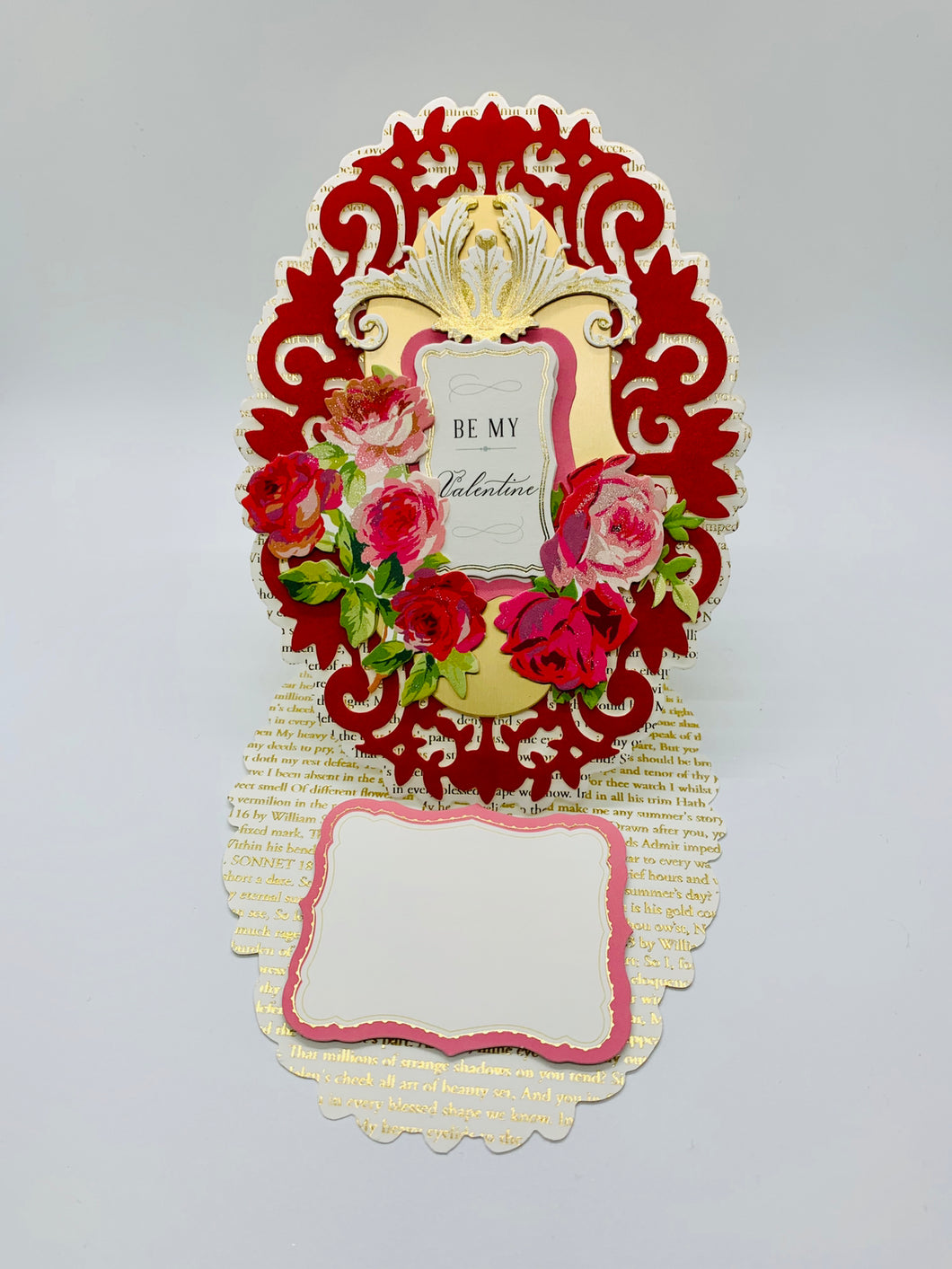 Be My Valentine Easel Card