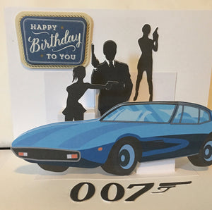 Spy Pop-up Card