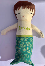 Load image into Gallery viewer, Handmade Mermaid Dolls- Personalized