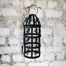 Chinhhari arts Wrought Iron cylindrical dome lantern - Chinhhari Arts store