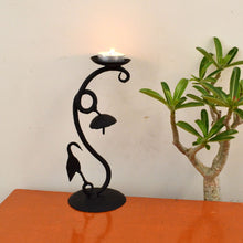 Chinhhari arts Wrought Iron candle stand - Chinhhari Arts store
