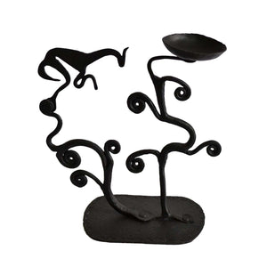 Chinhhari arts Wrought Iron Tree Candle stand - Chinhhari Arts store