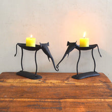 Chinhhari arts Wrought Iron elephant pair candle stand - Chinhhari Arts store