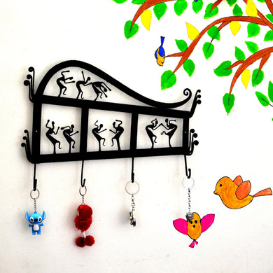 Chinhhari arts Wrought Iron Key Chain Holder - Chinhhari Arts store