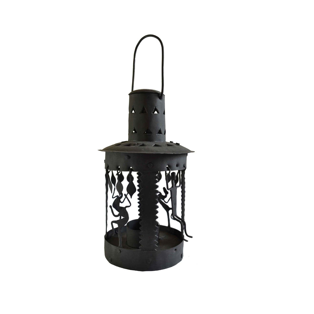 Chinhhari arts Wrought Iron circular lantern - Chinhhari Arts store
