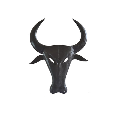 Chinhhari arts Wrought Iron  bull mask