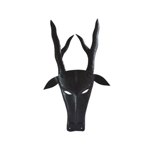 Chinhhari arts Wrought Iron  stag mask - Chinhhari Arts store