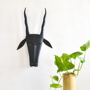 Chinhhari arts Wrought Iron  deer mask - Chinhhari Arts store