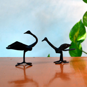 Chinhhari arts Wrought Iron Mini Swan - Chinhhari Arts store