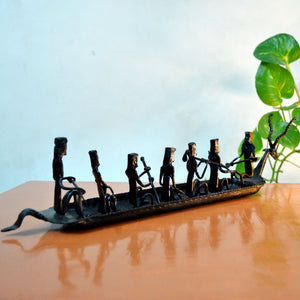 Chinhhari arts Wrought Iron Kerela boat - Chinhhari Arts store