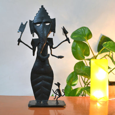 Chinhhari arts Wrought Iron Ganpati - Chinhhari Arts store