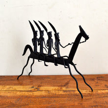 Chinhhari arts Wrought Iron horse riders - Chinhhari Arts store
