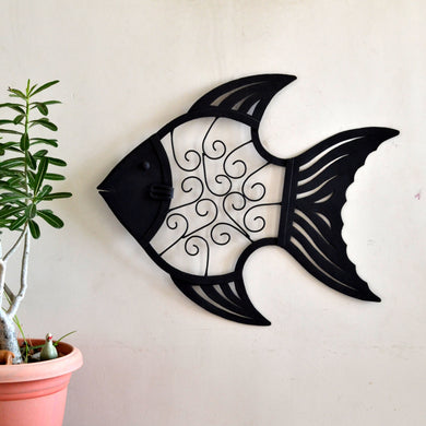 Chinhhari arts Wrought Iron abstract fish