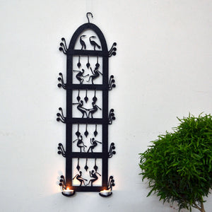 Chinhhari arts Wrought Iron Wall Hanging