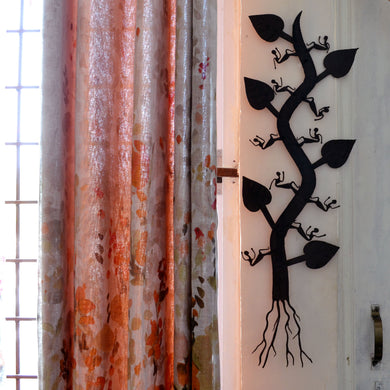 Chinhhari arts Wrought Iron tree wall hanging - Chinhhari Arts store