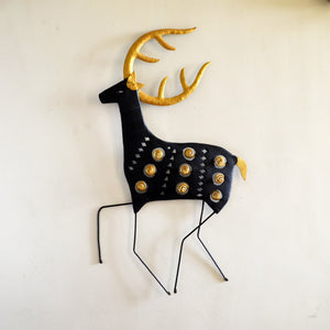 Chinhhari arts Wrought Iron Abstract deer - Chinhhari Arts store
