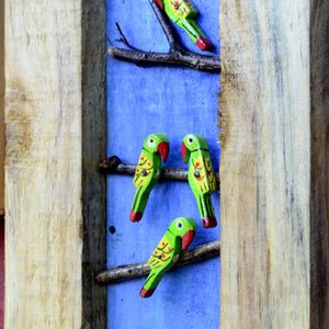 Chinhhari arts studio design Birds and branches set