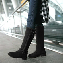 Load image into Gallery viewer, Women Shoes 2019 Spring And Autumn New Black Socks Shoes Female Fashion Casual Boots womens shoes High Warm Plush Winter Knee