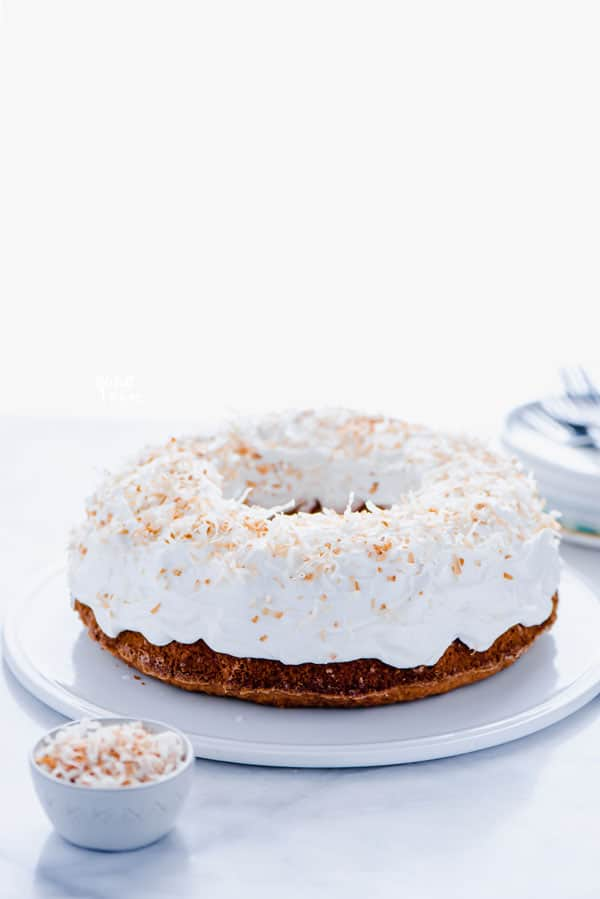 Simple Gluten Free Coconut Pound Cake Recipe