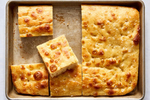 This focaccia isn't your garden-variety flatbread recipe