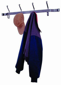 Enclume HCR4 Finishing Touches Hat and Coat Rack, Hammered Steel
