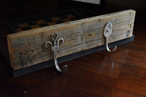 Recycled Silverware Hooks for Coat Rack, Mug Hanger, Jewelry Holder, Dish Towels and more!