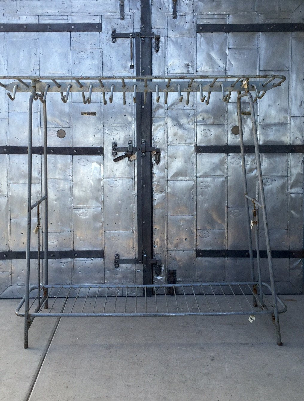 Military Clothing - Coat Rack