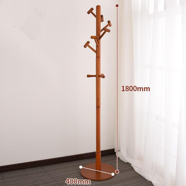 Tree-Style Wooden Coat Stand