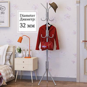 Free-standing Wrought-iron Coat Stand