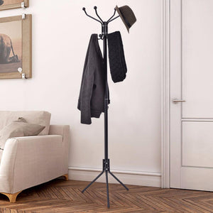 Black Metal Coat Stand