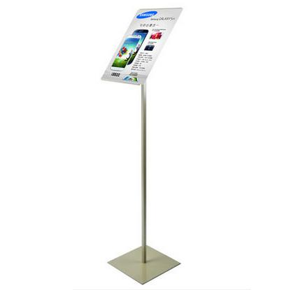 Free Shipping A4 Metal Poster Stand, Poster Display Rack