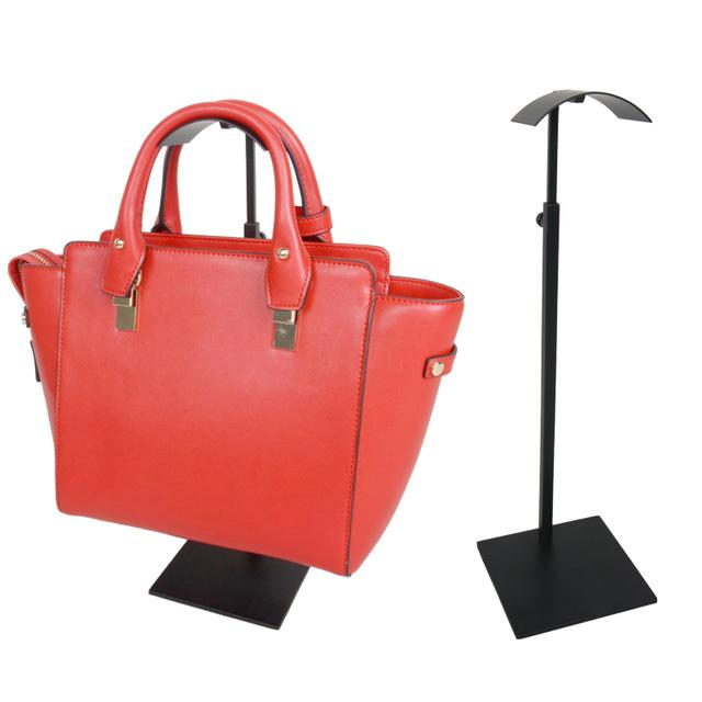 10 pieces of adjustable height half-arc shape women's handbag holder/display stand