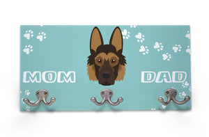 Wall Mounted Coat Rack - German Shepherd - Adult