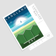 Load image into Gallery viewer, Modern & Minimalistic Gower postcards (Pack of 7)